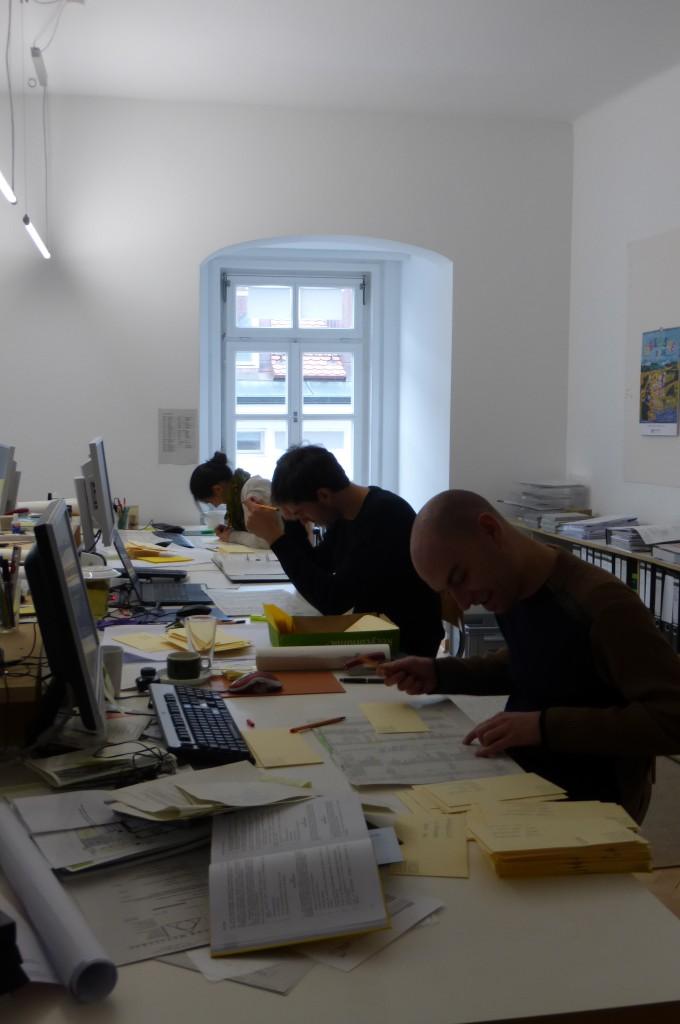 in der Schreibwerkstatt